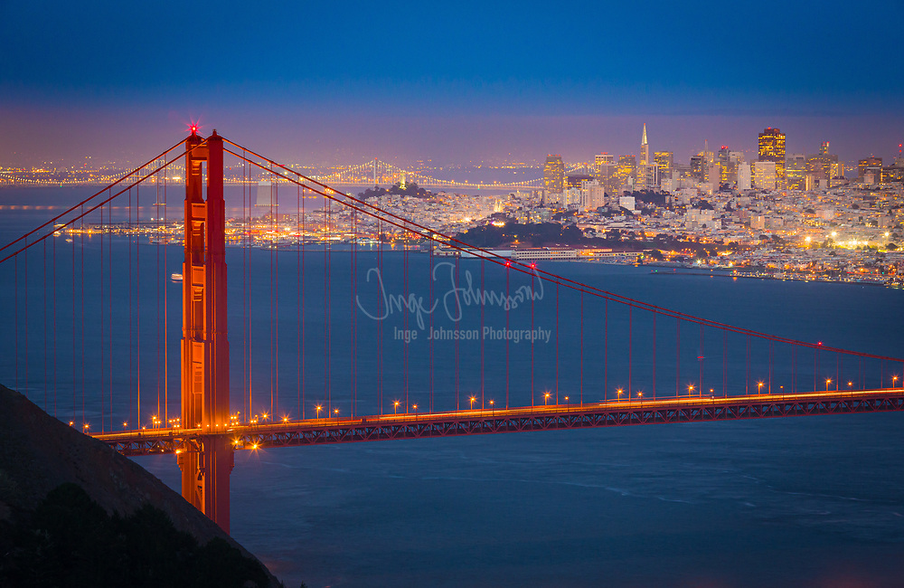 """San Francisco, officially the City and County of San Francisco, is the leading financial and cultural center of Northern California and the San Francisco Bay Area.<br /> The only consolidated city-county in California, San Francisco encompasses a land area of about 46.9 square miles on the northern end of the San Francisco Peninsula, giving it a density of about 17,620 people per square mile. It is the most densely settled large city (population greater than 200,000) in the state of California and the second-most densely populated major city in the United States after New York City. San Francisco is the fourth most populous city in California, after Los Angeles, San Diego and San Jose, and the 14th most populous city in the United States—with a Census-estimated 2012 population of 825,863. The city is also the financial and cultural hub of the larger San Jose-San Francisco-Oakland metropolitan area, with a population of 8.4 million.<br /> San Francisco (Spanish for """"Saint Francis"""") was founded on June 29, 1776, when colonists from Spain established a fort at the Golden Gate and a mission named for St. Francis of Assisi a few miles away. The California Gold Rush of 1849 brought rapid growth, making it the largest city on the West Coast at the time. Due to the growth of its population, San Francisco became a consolidated city-county in 1856. After three-quarters of the city was destroyed by the 1906 earthquake and fire, San Francisco was quickly rebuilt, hosting the Panama-Pacific International Exposition nine years later. During World War II, San Francisco was the port of embarkation for service members shipping out to the Pacific Theater. After the war, the confluence of returning servicemen, massive immigration, liberalizing attitudes, and other factors led to the Summer of Love and the gay rights movement, cementing San Francisco as a center of liberal activism in the United States."""