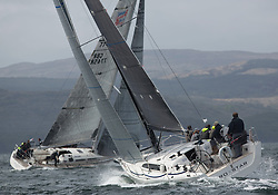 Day one of the Silvers Marine Scottish Series 2015, the largest sailing event in Scotland organised by the  Clyde Cruising Club<br /> Racing on Loch Fyne from 22rd-24th May 2015,<br /> GBR8038R, Roxstar, J Anderson/M Findlay, CCC, XP38i<br /> <br /> <br /> Credit : Marc Turner / CCC<br /> For further information contact<br /> Iain Hurrel<br /> Mobile : 07766 116451<br /> Email : info@marine.blast.com<br /> <br /> For a full list of Silvers Marine Scottish Series sponsors visit http://www.clyde.org/scottish-series/sponsors/