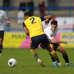 TELFORD COPYRIGHT MIKE SHERIDAN Adam Walker of Telford during the Vanarama National League Conference North fixture between AFC Telford United and Guiseley on Saturday, October 19, 2019.<br /> <br /> Picture credit: Mike Sheridan/Ultrapress<br /> <br /> MS201920-026