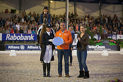 Heijkoop Danielle and Wim Ernes (NED) <br /> CDIO5 Grand Prix Freestyle <br /> CHIO Rotterdam 2014<br /> © Dirk Caremans