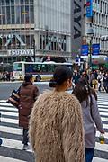 Scramble Crossing, Shibuya, Tokyo, Japan