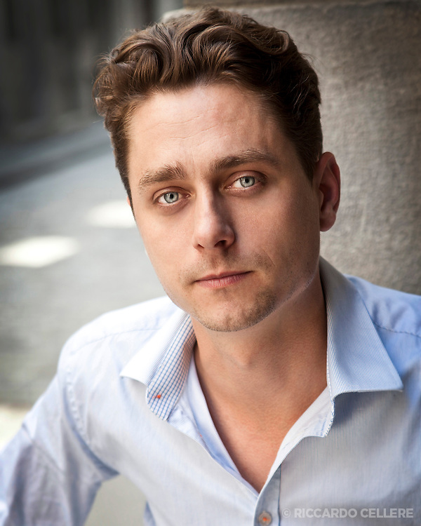 Headshot photography. Actor. 2012.