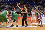 DESCRIZIONE : Eurolega Euroleague 2015/16 Group D Unicaja Malaga - Dinamo Banco di Sardegna Sassari<br /> GIOCATORE : Sasa Pukl<br /> CATEGORIA : Palla a due<br /> SQUADRA : Arbitro Referee<br /> EVENTO : Eurolega Euroleague 2015/2016<br /> GARA : Unicaja Malaga - Dinamo Banco di Sardegna Sassari<br /> DATA : 06/11/2015<br /> SPORT : Pallacanestro <br /> AUTORE : Agenzia Ciamillo-Castoria/L.Canu