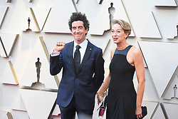 February 24, 2019 - Los Angeles, California, U.S - ROBBIE RYAN AND WIFE during red carpet arrivals for the 91st Academy Awards, presented by the Academy of Motion Picture Arts and Sciences (AMPAS), at the Dolby Theatre in Hollywood. (Credit Image: © Kevin Sullivan via ZUMA Wire)