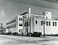 1938 Technicolor Lab at Cahuenga Ave.