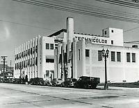 1938 Technicolor Lab at Cahuenga Ave.