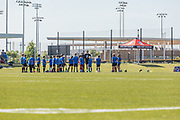 Kids on the Soccer Field at OC Great Park Irvine