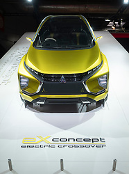Mitsubishi EX electric crossover concept vehicle at Paris Motor Show 2016