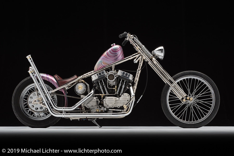 A 03 Sporty built by Chris Pennington of Tried and True in OH. Photographed by Michael Lichter in Columbus, OH on 2/10/18. ©2018 Michael Lichter.