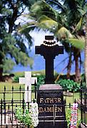 Father Damien Grave, Kalapapa, Molokai