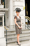 Sinead Purcell, Kilcolgan  at Hotel Meyrick in Eyre Sq. Galway for their best dressed Lady Competition during Galway's Race week . Photo:Andrew Downes