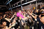 Peaches performs at Terminal 5, NYC. November 14, 2009