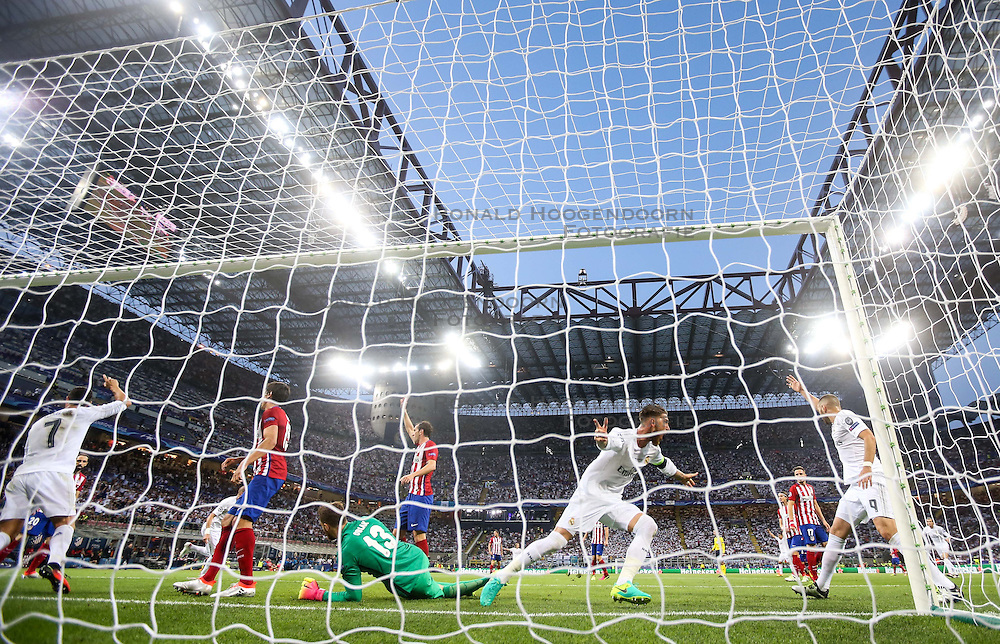 28-05-2016 ITA, UEFA CL Final, Atletico Madrid - Real Madrid, Milaan<br /> Jan Oblak of Atlético after Sergio Ramos of Real Madrid scored first goal<br /> <br /> ***NETHERLANDS ONLY***