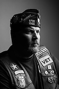 Ric Knerr<br /> Army<br /> Spec. (E-4)<br /> Paratrooper<br /> 1994-1998<br /> Bosnia, Operation Joint Endeavor<br /> <br /> Veterans Portrait Project<br /> Louisville, KY<br /> VFW Convention <br /> (Photos by Stacy L. Pearsall)