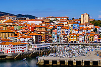 spagne, Biscaye, Pays basque, Berméo, le port de peche // Spain, Biscay, Basque Country, Bermeo, the fishing port