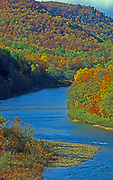 Clinton County, North Central PA. West Branch Susquehanna River and forest