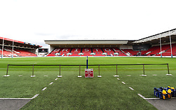 General view of the pitch at Ashton Gate Stadium - Mandatory by-line: Paul Knight/JMP - 22/10/2017 - RUGBY - Ashton Gate Stadium - Bristol, England - Bristol Rugby v Doncaster Knights - B&I Cup