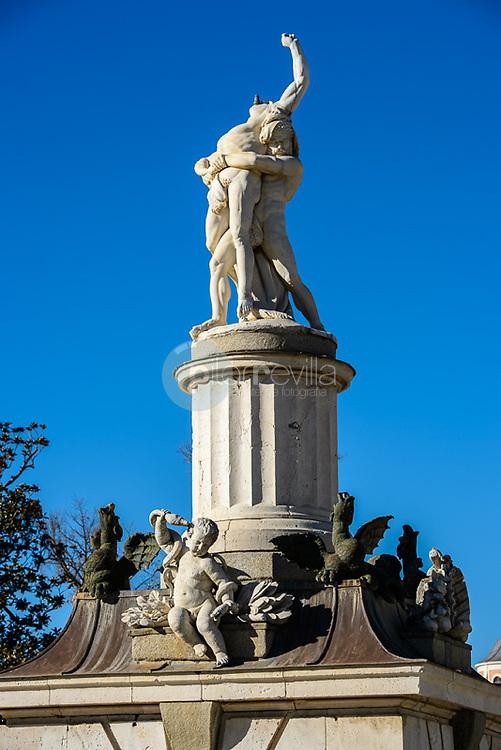Fuente de Hércules y Anteo Palacio Real de Aranjuez. Madrid. España. Europa<br />  ©Country Sessions / PILAR REVILLA