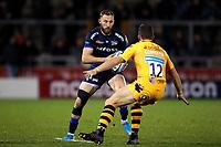 Rugby Union - 2019 / 2020 Gallagher Premiership - Sale Sharks vs. Wasps <br /> <br /> Byron McGuigan of Sale Sharks, at AJ Bell Stadium,<br /> <br /> COLORSPORT/PAUL GREENWOOD