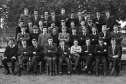 The Leaving Certificate Class pictured in the grounds of St. Brendan's College, Killarney in 1965 and who held their 50th reunion last weekend at the college.<br /> Photo: Donal MacMonagle <br /> e: info@macmonagle.com