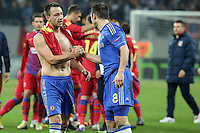 John Terry and Frank Lampard from chelsea after the game