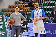 Eurocup 2015-2016 Last 32 Group N Dinamo Banco di Sardegna Sassari - Szolnoki Olaj <br /> GIOCATORE : Stefano Sardara Matteo Formenti<br /> CATEGORIA : Ritratto Before Pregame <br /> SQUADRA : Dinamo Banco di Sardegna Sassari<br /> EVENTO : Eurocup 2015-2016 GARA : Dinamo Banco di Sardegna Sassari - Szolnoki Olaj <br /> DATA : 03/02/2016 <br /> SPORT : Pallacanestro <br /> AUTORE : Agenzia Ciamillo-Castoria/C.Atzori