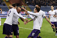 esultanza gol Josip Ilicic Fiorentina Goal celebration Genova 08-11-2015 Stadio Marassi Football Calcio Serie A 2015/2016 Sampdoria - Fiorentina <br /> foto Daniele Buffa/Image Sport/Insidefoto