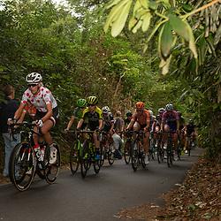 29-08-2018: Wielrennen: Ladies Tour: Nijmegen<br /> Ellen van Dijk (team Sunweb), voorop  op de klim