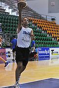 Sassari 14 Agosto 2012 - Qualificazioni Eurobasket 2013 -Allenamento<br /> Nella Foto : GIUSEPPE POETA<br /> Foto Ciamillo