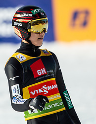 Ryoyu Kobayashi (JPN) reacts during the 1st Round of the Ski Flying Hill Individual Competition at Day 2 of FIS Ski Jumping World Cup Final 2019, on March 22, 2019 in Planica, Slovenia. Photo by Vid Ponikvar / Sportida