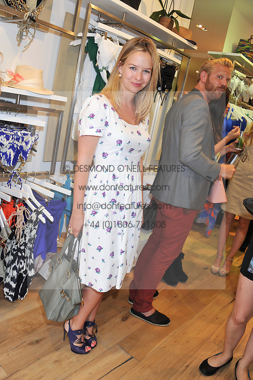 MARISSA HERMER at a party to celebrate the launch of Salt Resortwear store at 69 Walton Street, London SW3 on 20th June 2012.