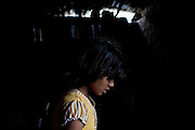 In the early hours of the morning, Poonam, 10, is waiting for Indian chai tea and breakfast inside her family's newly built home in Oriya Basti, one of the water-contaminated colonies in Bhopal, central India, near the abandoned Union Carbide (now DOW Chemical) industrial complex, site of the infamous '1984 Gas Disaster'.