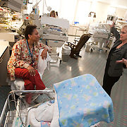 Sharon Rogone, a former Neonatal Intensive Care Unit (NICU) nurse turned innovator and businesswoman, formed a company called Small Beginnings Inc, which specializes in medical supplies to care and treat premature infants. Her inventions, including the tiny diaper called the Cuddle Buns Diaper, earned her a place in the Smithsonian's Lemelson Center for the Study of Invention and Innovation.