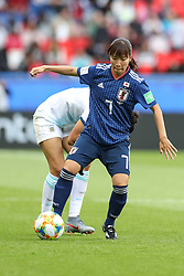 June 10, 2019: Paris, France: Nakajima of Japan during match against Argentina game valid for group D of the first phase of the Women's Soccer World Cup in the Parc Des Princes. (Credit Image: © Vanessa Carvalho/ZUMA Wire)