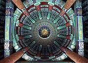 Ceiling of The Temple of Heaven in Beijing, China
