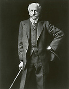'Percival Lawrence Lowell (1855-1916) American businessman, mathematician, and astronomerr. Founded Lowell Observatory, Flagstaff, Arizona.  Studied the planet Mars and wrote on what he thought were canals on its service.'
