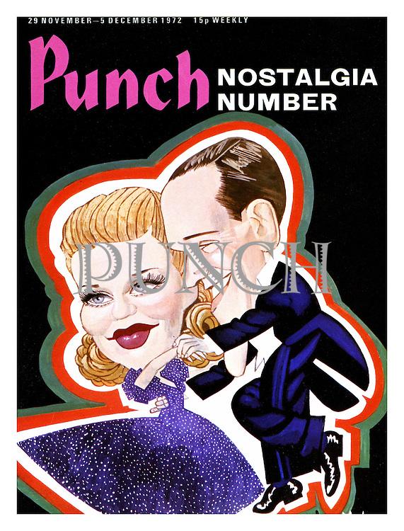 Punch cover 29 November 1972. Nostalgia Number