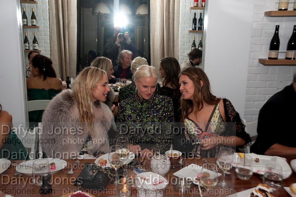 ELIZABETH VON THURN UND TAXIS; OLYMPIA SCARRY; DASHA ZHUKOVA;   Dom PŽrignon with Alex Dellal, Stavros Niarchos, and Vito Schnabel celebrate Dom PŽrignon Luminous. W Hotel Miami Beach. Opening of Miami Art Basel 2011, Miami Beach. 1 December 2011. .<br /> ELIZABETH VON THURN UND TAXIS; OLYMPIA SCARRY; DASHA ZHUKOVA;   Dom Pérignon with Alex Dellal, Stavros Niarchos, and Vito Schnabel celebrate Dom Pérignon Luminous. W Hotel Miami Beach. Opening of Miami Art Basel 2011, Miami Beach. 1 December 2011. .