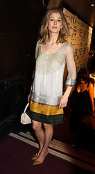 Actress ROSAMUND PIKE at the 9th Annual British Independent Film Awards at the Hammersmith Palais, London on 29th November 2006.<br /><br />NON EXCLUSIVE - WORLD RIGHTS