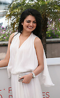 Actress Niharika Singh at the Miss Lovely film photocall at the 65th Cannes Film Festival France. Thursday 24th May 2012 in Cannes Film Festival, France.