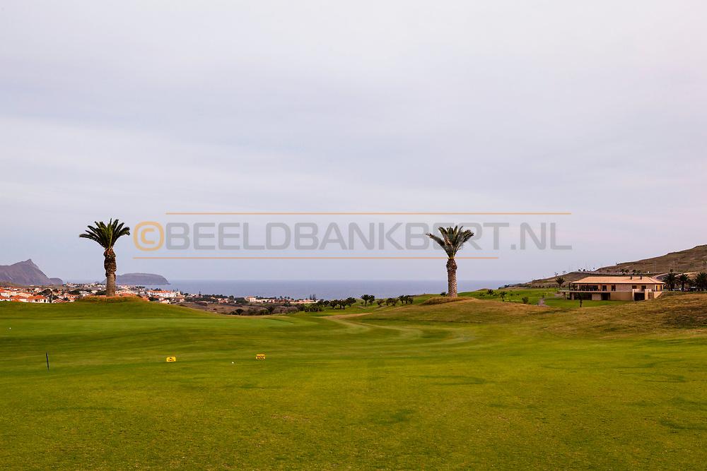 08-12-2015 -  Foto van Porto Santo Golf. Genomen tijdens een golfreis naar de Madeira Islands bij Porto Santo Golf in Porto Santo, Portugal.