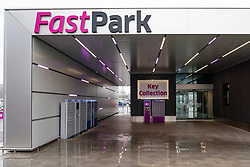 FastPark parking service at Edinburgh Airport, Scotland, UK