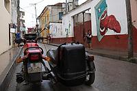 Street art. Baracoa, Cuba 2020 from Santiago to Havana, and in between.  Santiago, Baracoa, Guantanamo, Holguin, Las Tunas, Camaguey, Santi Spiritus, Trinidad, Santa Clara, Cienfuegos, Matanzas, Havana