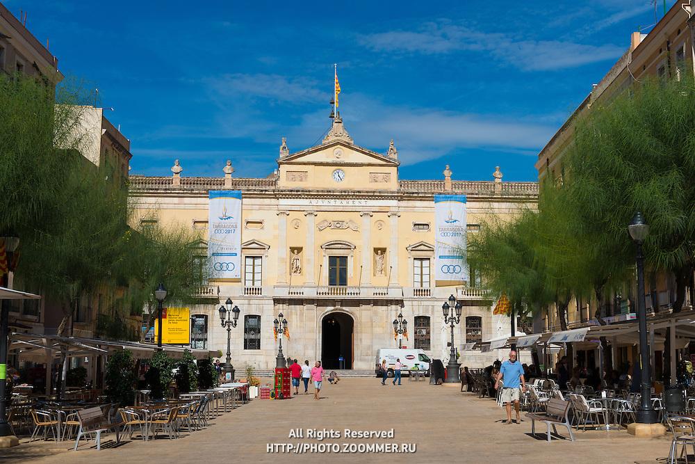 Tarragona Font Square (Placa de la Font), Spain