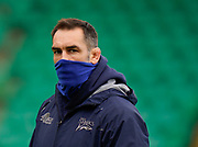 Sale Sharks Director of Rugby Alex Sanderson before a Gallagher Premiership Round 13 Rugby Union match, Saturday, Mar. 13, 2021, in Northampton, United Kingdom. (Steve Flynn/Image of Sport)