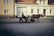 13.11.2016. Spazierfahrt auf der B1: Parchen ein kleines Dorf zwischen Burg und Genthin. Jeden Sonntag macht Peter Herbig einen Ausflug.<br /> <br /> ©Harald Krieg