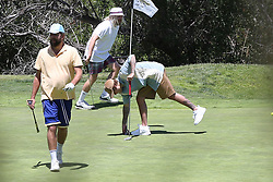 EXCLUSIVE: Justin Bieber enjoys a day out golfing with friends. Justin appeared at one point to ignore social distancing rules hugging his golfing partner. 15 Jun 2020 Pictured: Justin Bieber. Photo credit: Rachpoot/MEGA TheMegaAgency.com +1 888 505 6342