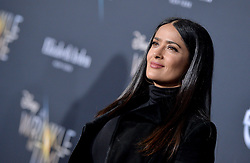 Salma Hayek attends the premiere of Disney's 'A Wrinkle In Time' at the El Capitan Theatre on February 26, 2018 in Los Angeles, CA, USA. Photo by Lionel Hahn/AbacaPress.com