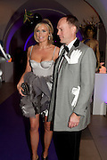 BODIL BLAIN; HARRY BLAIN, The Surrealist Ball in aid of the NSPCC. Hosted by Lucy Yeomans and Harry Blain. Banqueting House. Whitehall. 17 March 2011. -DO NOT ARCHIVE-© Copyright Photograph by Dafydd Jones. 248 Clapham Rd. London SW9 0PZ. Tel 0207 820 0771. www.dafjones.com.