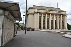 Palais de Chaillot on the 43rd day of lockdown to prevent the spread of Covid-19. Paris, France on April 28, 2020. Photo by Vincent Gramain/ABACAPRESS.COM